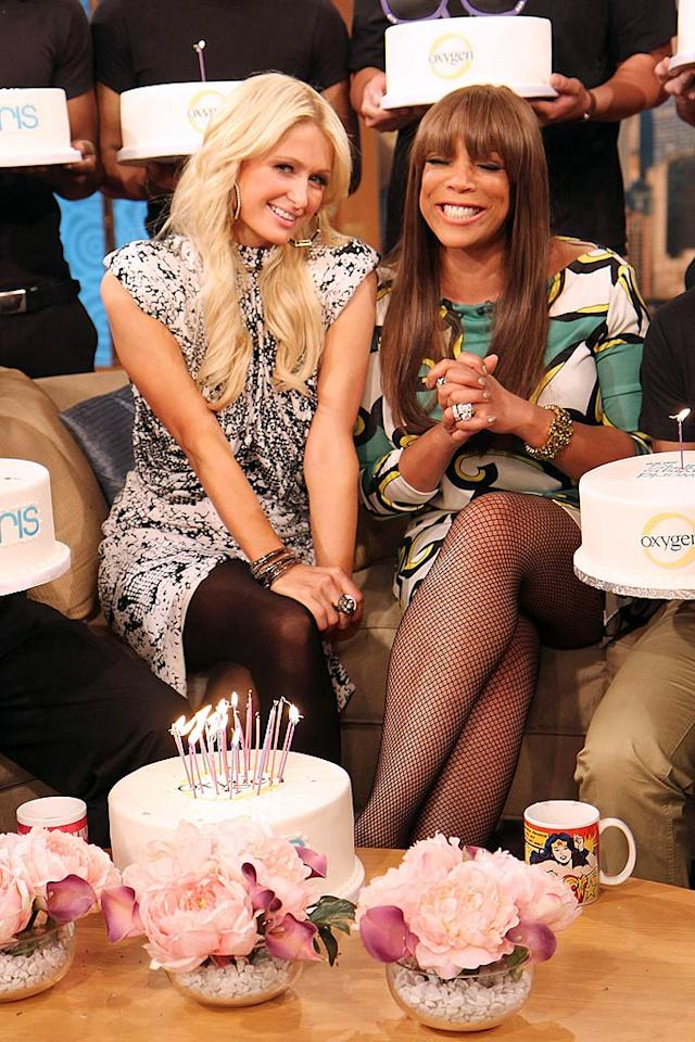 """Luckily, the blond reality starlet was showered with multiple birthday cakes when she celebrated the big 3-0 on """"The Wendy Williams Show"""" in New York on Thursday. Taylor Hill/<a href=""""http://www.wireimage.com"""" target=""""new"""">WireImage.com</a> - February 17, 2011"""