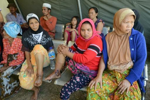 The Indonesian Red Cross has set up mobile clinics and a field hospital