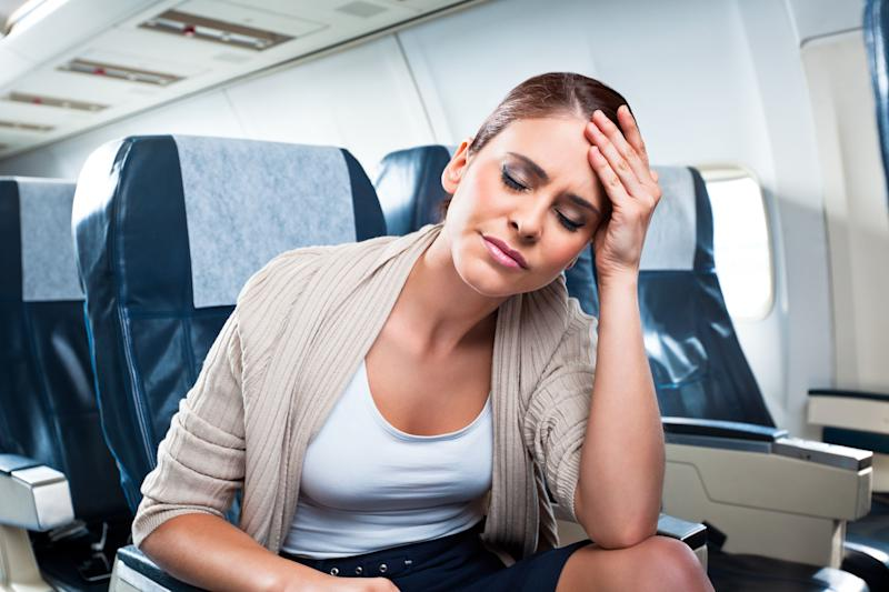 A woman was left fuming after a mum asked her to sit in the middle seat so she could sit next to her kids. Photo: Getty Images