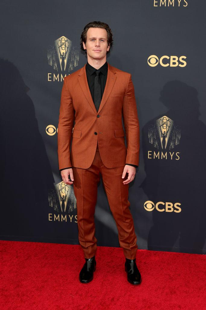 Jonathan Groff attends the 73rd Primetime Emmy Awards on Sept. 19 at L.A. LIVE in Los Angeles. (Photo: Rich Fury/Getty Images)
