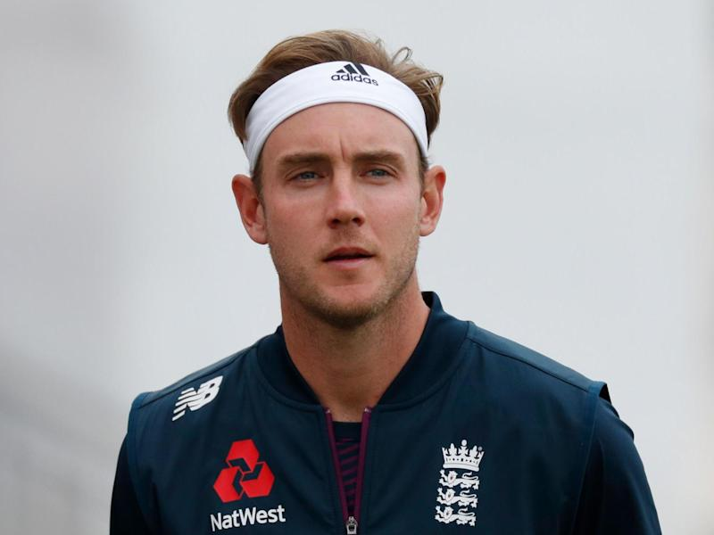 Broad was left out by England for the first Test in Southampton: POOL/AFP via Getty Images