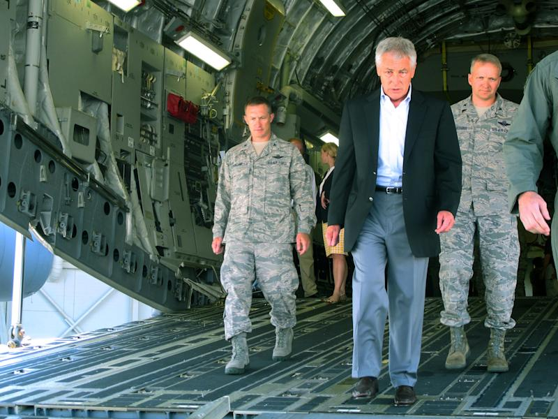 Pentagon chief can't offer hope in budget cuts