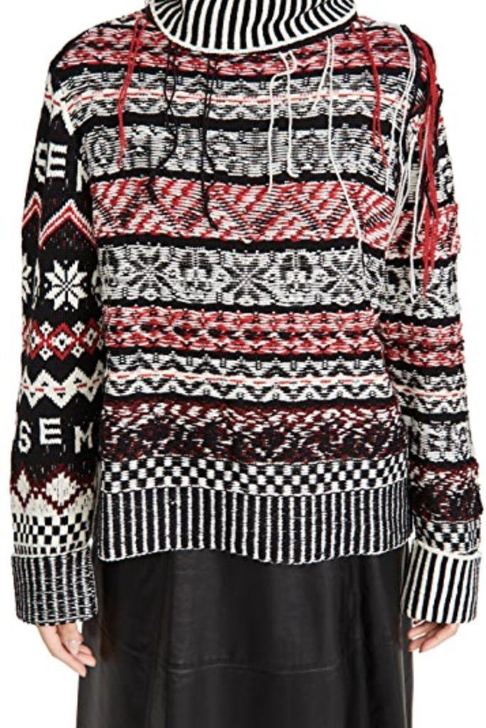 monse, fair isle sweater, monse sweater, shopbop, 2020 fashion trends