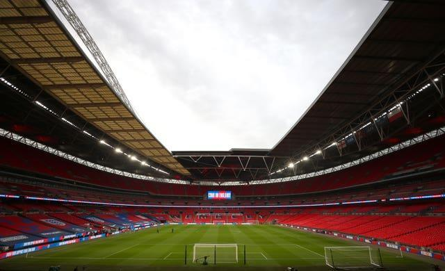 Wembley will welcome some spectators back this weekend