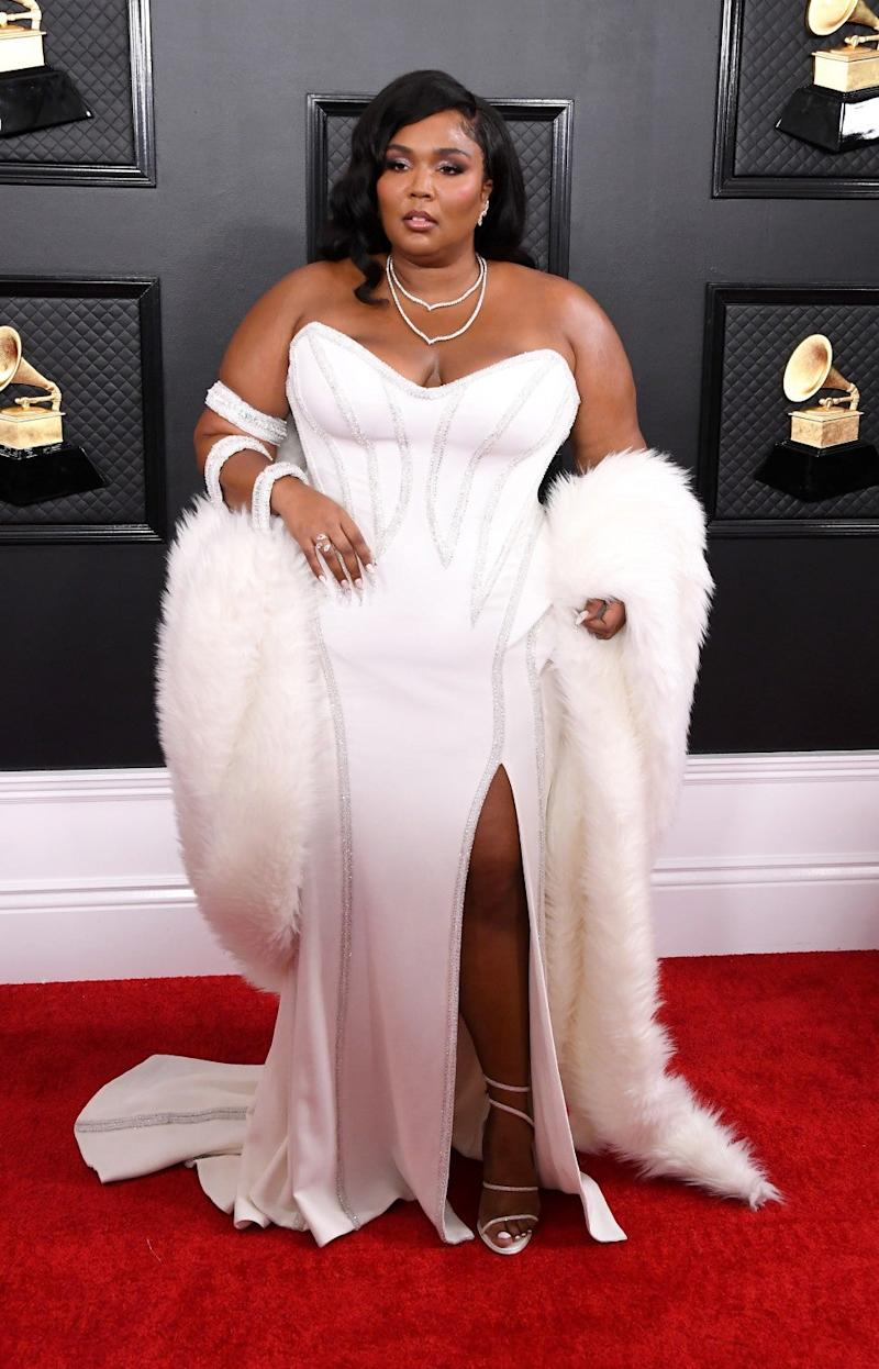 Lizzo at 2020 grammys