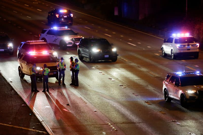 One of two Seattle protesters hit by car dies, other in ICU