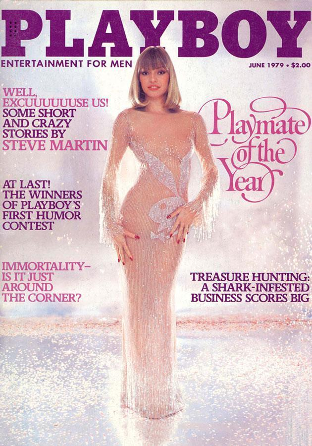 Actress Monique St. Pierre was 24 when she posed for this 1979 cover.