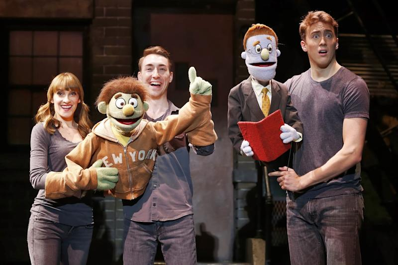 Pioneering 'Avenue Q' celebrates 10th anniversary