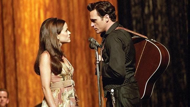 <p> If you're looking for a toe-tappin' musical with singalongs aplenty then this isn't the movie for you. James Mangold's film biopic brings to life Country legend Johnny Cash's addiction to drugs and his agonising on/off relationship with singing partner June Carter. Joaquin Phoenix and Reese Witherspoon sang every note in the film, giving an authenticity to their performances, which garnered a boatload of praise. The film was nominated for five Oscars, with Witherspoon picking up the gong for Best Performance by an Actress in a Leading Role. </p>