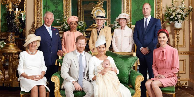 Fans think Prince William looks 'sour' in Archie's christening snaps