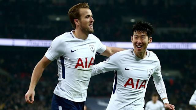 Tottenham hammered Everton 4-0 in a game that saw Harry Kane become their record goalscorer in the Premier League.