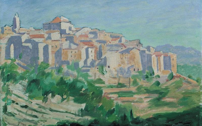 The painting of Tourrettes-sur-Loup - Churchill Heritage Ltd