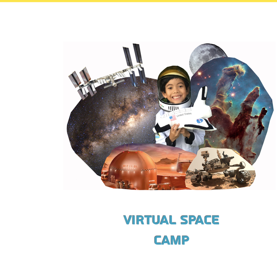 A teenager created a free virtual space camp for kids after his internship was cancelled due to COVID-19. (Cosmoto)