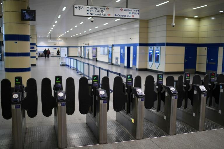 British transport has been affected by measures aimed at containing the coronavirus