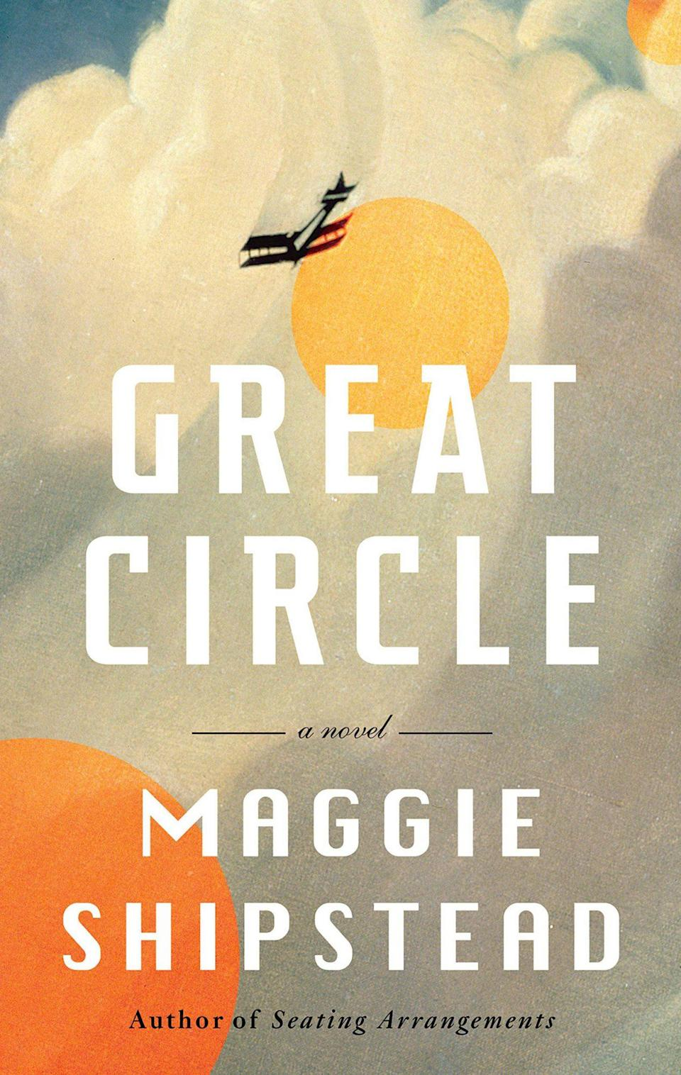 <p>A gargantuan of a novel at just over 600 pages, <span><em>Circle </em></span>weaves two together two story lines: the coming-of-age tale of fearless female pilot Marian Graves, saved from a sinking ocean liner in 1914 and eventually lost forever attempting a record-breaking flight around the world, and the making of a movie about her life in current-day Hollywood. It's a feat of story in every sense. (May 4)</p>