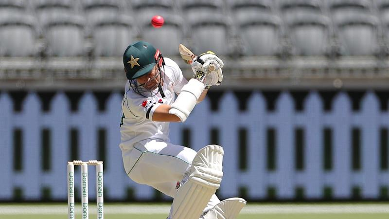 Pakistan's Shaheen Shah Afridi was one of three wickets for Australia A paceman Jhye Richardson