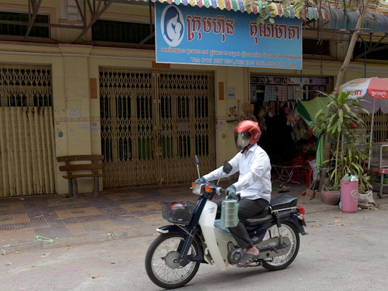 The offices of Ambrosia Labs in the Cambodian capital Phnom Penh: Getty Images