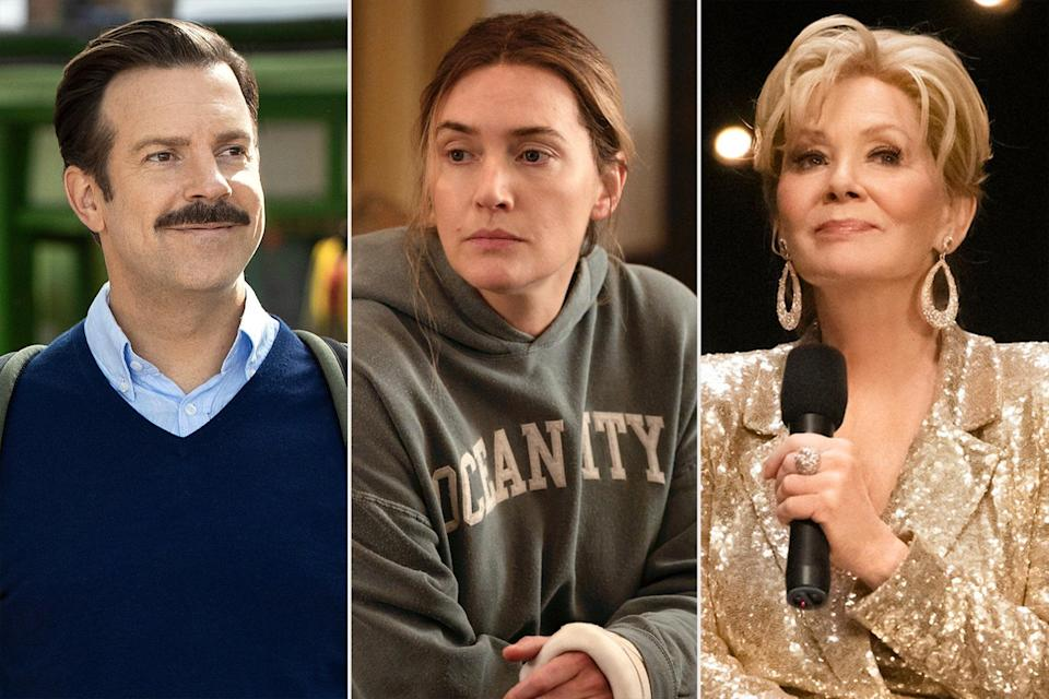 Ted Lasso, Mare of Easttown, and Jean Smart in Hacks