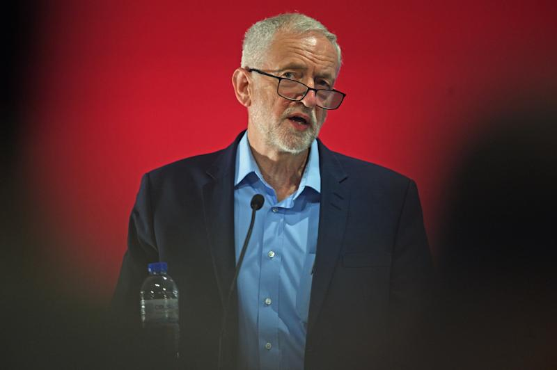 Jeremy Corbyn is facing a vote of no-confidence himself. (Photo: Getty Editorial)