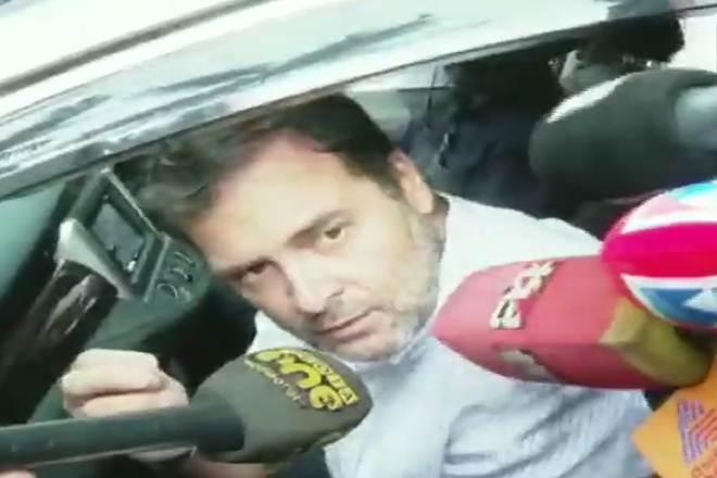 Rahul Gandhi further added that the duo has no contact with the people. (ANI Image)