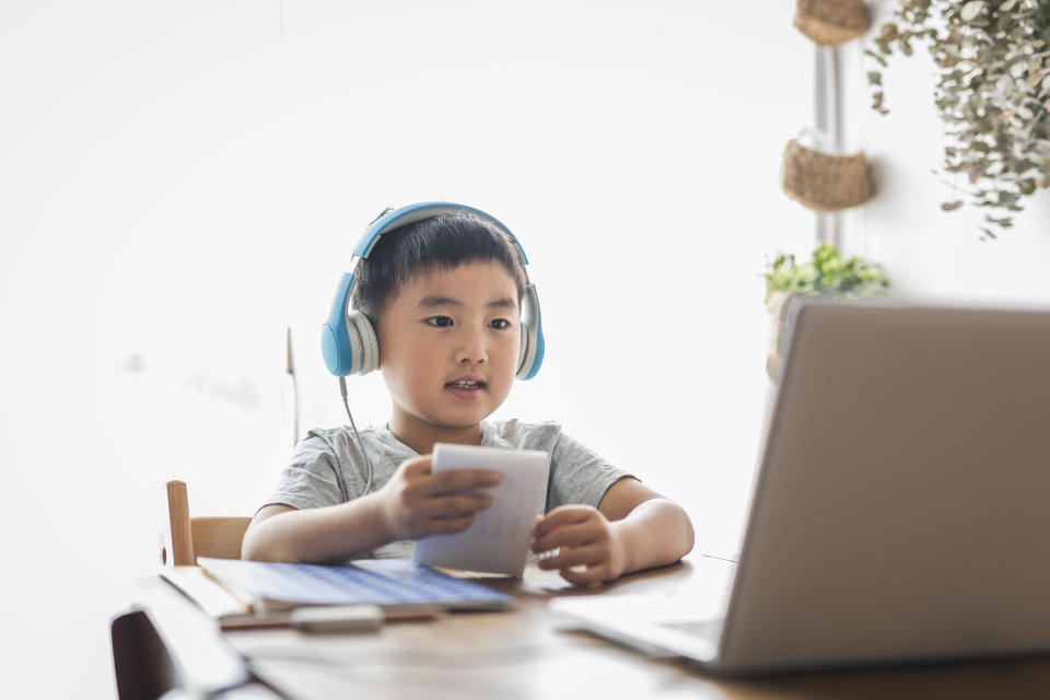 A password manager can help your children practice good cyber habits. (Photo: Getty)