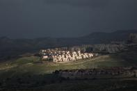 FILE PHOTO: A view shows the Israeli settlement of Maale Adumim in the Israeli-occupied West Bank