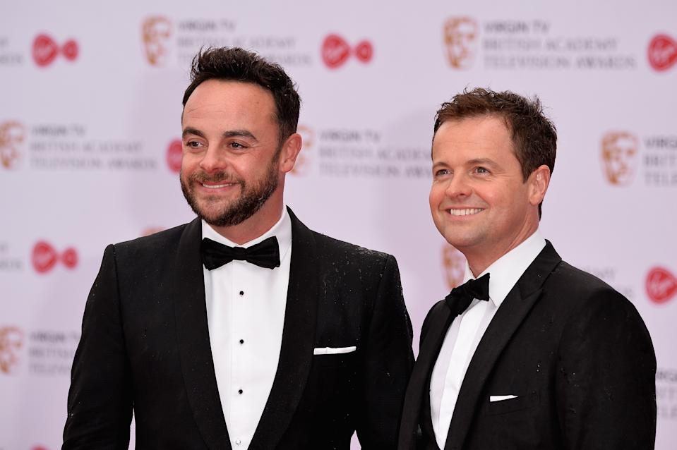 Ant and Dec decided to help Mila out. (Photo by Jeff Spicer/Getty Images)
