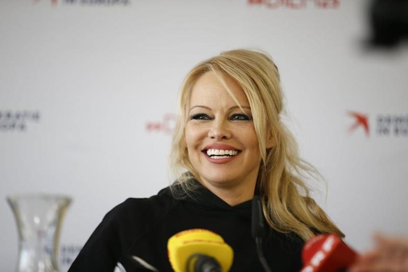 Pamela Anderson says she'd remarry. (Photo: ERWIN SCHERIAU/AFP via Getty Images)