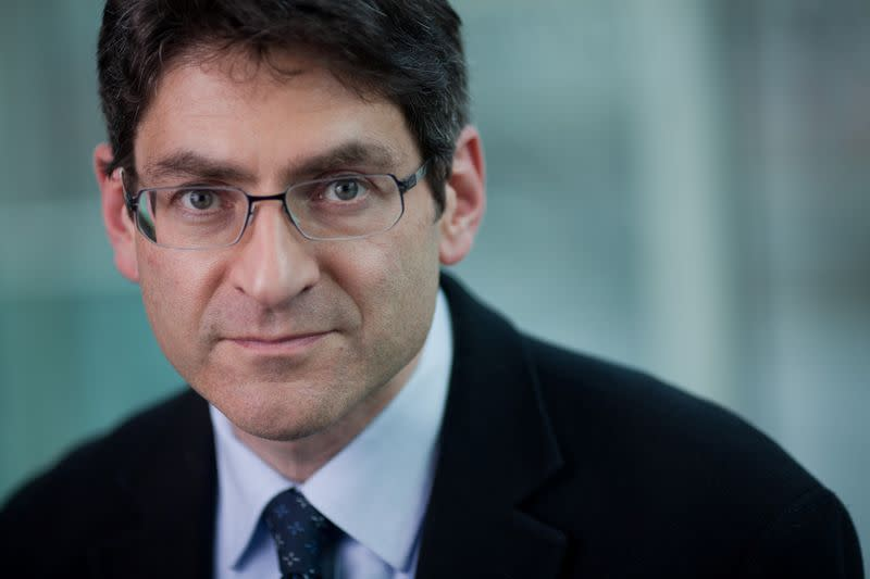FILE PHOTO: Professor Jonathan Haskel, who has just been appointed to the Monetary Policy Committee of the Bank of England, is seen in this undated portrait released by HM Treasury in London