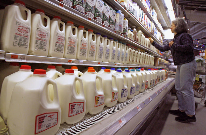 House votes against dairy overhaul
