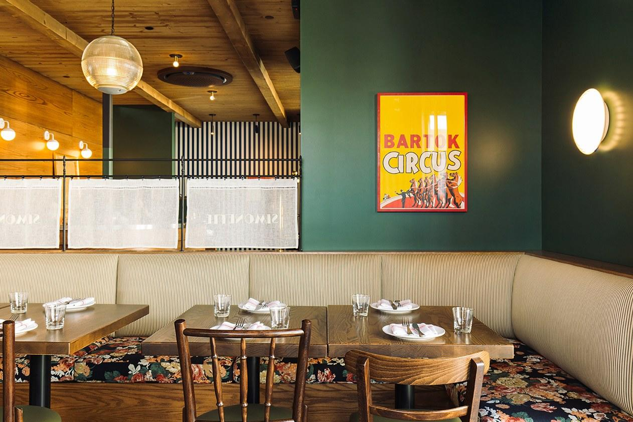 <p><strong>Tell us about your first impressions when you arrived.</strong><br> Simonette is in the diminutive lobby space of the Palihotel. The stylish, Parisian-style all-day bistro is just what Culver City ordered.</p> <p><strong>What was the crowd like?</strong><br> Studio execs from the nearby lots as well as dates and friends catching up.</p> <p><strong>What should we be drinking?</strong><br> Start with a French-inspired craft cocktail with a twinge of California flare, or opt for a glass of bubbly.</p> <p><strong>Main event: the food. Give us the lowdown—especially what not to miss.</strong><br> Don't miss out on the outrageously good buckwheat crepe, layered with a thick cut of Canadian bacon and a perfect egg over easy, and served with lemony frisée.</p> <p><strong>And how did the front-of-house folks treat you?</strong><br> Since the space is small and the wait staff is used to studio execs on the go, you're bound to get speedy service.</p> <p><strong>What's the real-real on why we're coming here?</strong><br> This is definitely a spot for brunch with friends or a date.</p>