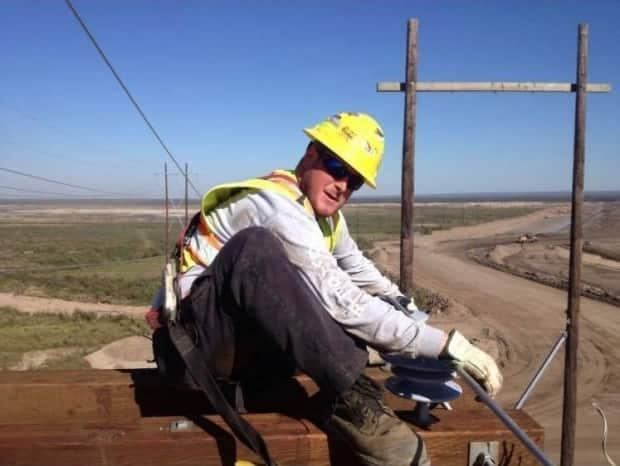 Philip Parsons was 30 when he died in a workplace accident while working on the Maritime Link project. (Submitted by Brett Parsons - image credit)