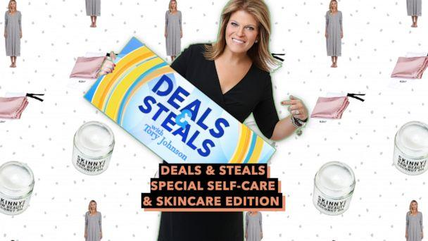PHOTO: Deals & Steals Special Self-care & Skincare Edition (ABC News Photo Illustration, Skinny & Co., NIGHT and Poetically Correct)