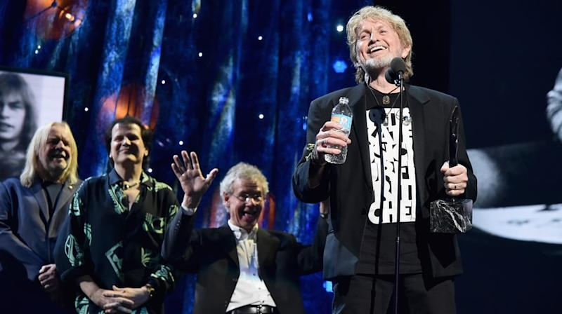 Watch Yes' Hilarious, Profane Rock Hall of Fame Speech