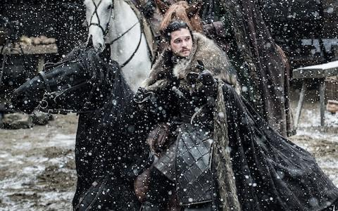 Jon takes charge in the North - Credit: HBO