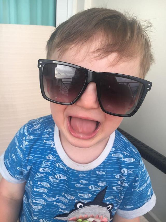 Rocco Wright was found lifeless at the bottom of the David Lloyd pool in Leeds (SWNS)