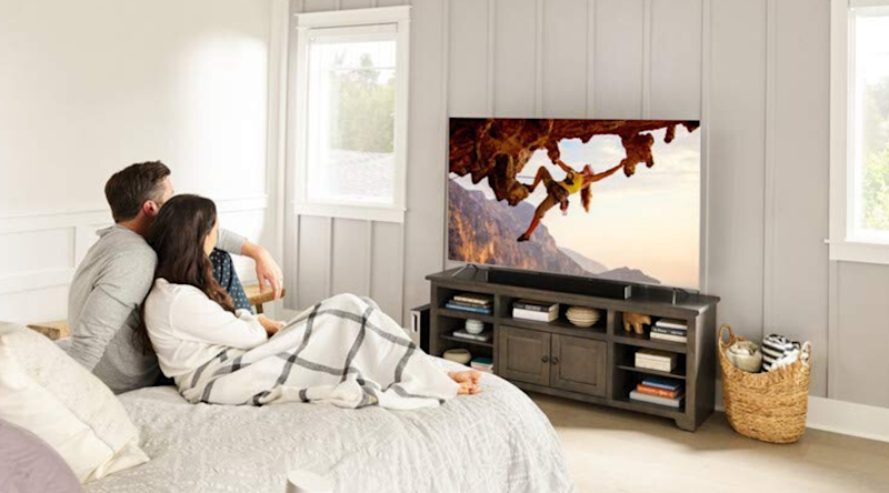 Vizio's P-Series Quantum 4K HDR Smart TV comes with Apple AirPlay and Chromecast built-in.