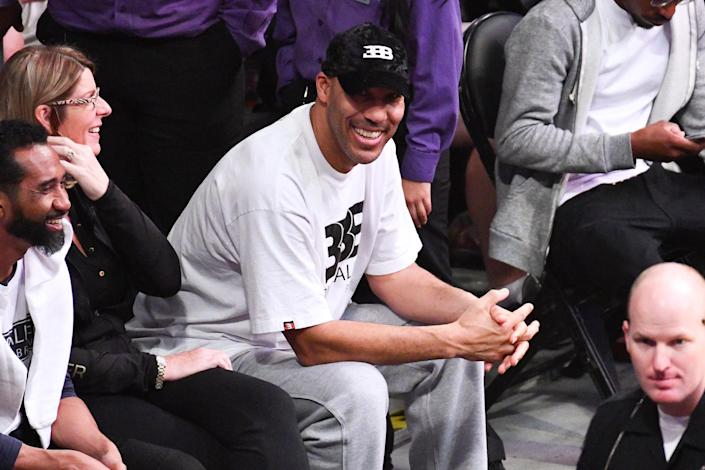 """ESPN wasn't happy with LaVar Ball after Monday's """"First Take."""" (Photo by Allen Berezovsky/Getty Images)"""