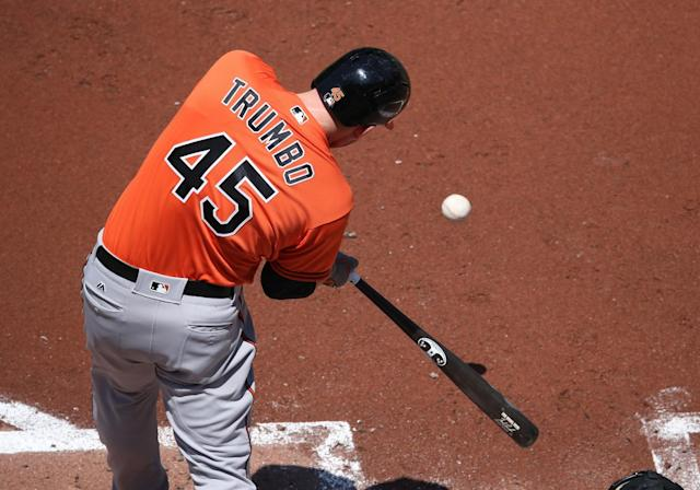 You don't need to steal bases when you hit home runs like the Orioles. (Getty Images)
