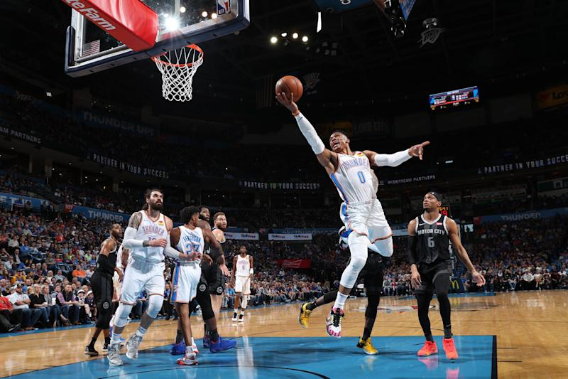 Westbrook records rare triple-double | Professional
