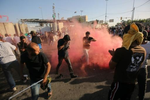 Iraq forces 'killed at least two protesters' in Baghdad