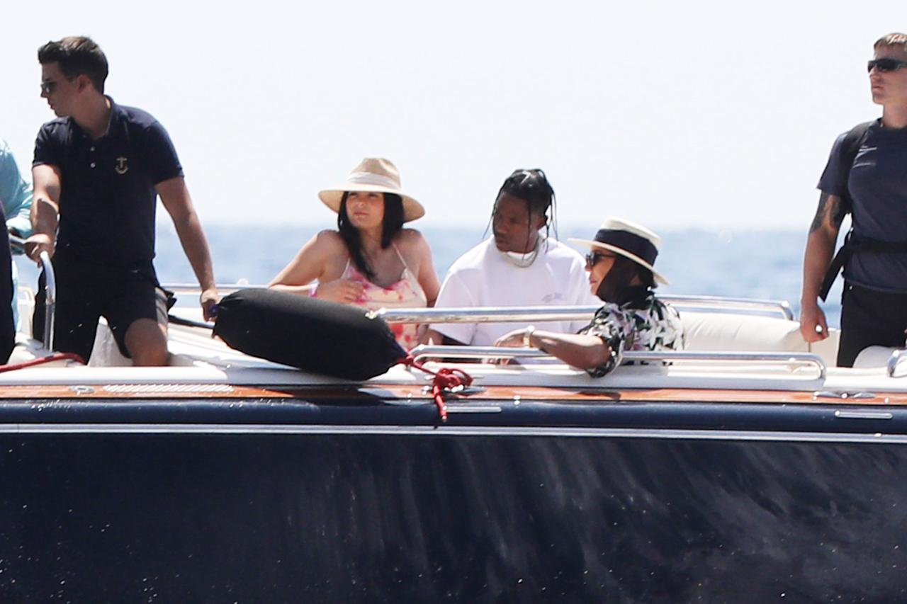 """Kylie Jenner sent fans into a frenzy of speculation that the makeup mogul was <a href=""""https://people.com/tv/kylie-jenner-and-travis-scott-arent-getting-married-during-her-birthday-trip-in-italy-source/"""">tying the knot</a> with boyfriend Travis Scott after she was spotted boarding a plane to Italy with what looked like a wedding dress in tow ahead of her 22nd birthday on Aug. 10.  As it turns out, it was only the latest in a string of false alarms about the marital status of <a href=""""https://people.com/parents/kylie-jenner-stormi-baby-photos/"""">Stormi's</a> parents. A source confirmed to PEOPLE, """"It's not Kylie's wedding and she is only flying to Italy to celebrate her birthday."""" The reality star is known for her <a href=""""https://people.com/style/kylie-jenner-21-birthday-outfits-kardashian-dresses/"""">over-the-top birthday ensembles</a>, so perhaps we'll see the dress in question in a post of her and her family living it up on the """"mega yacht"""" they're celebrating on."""