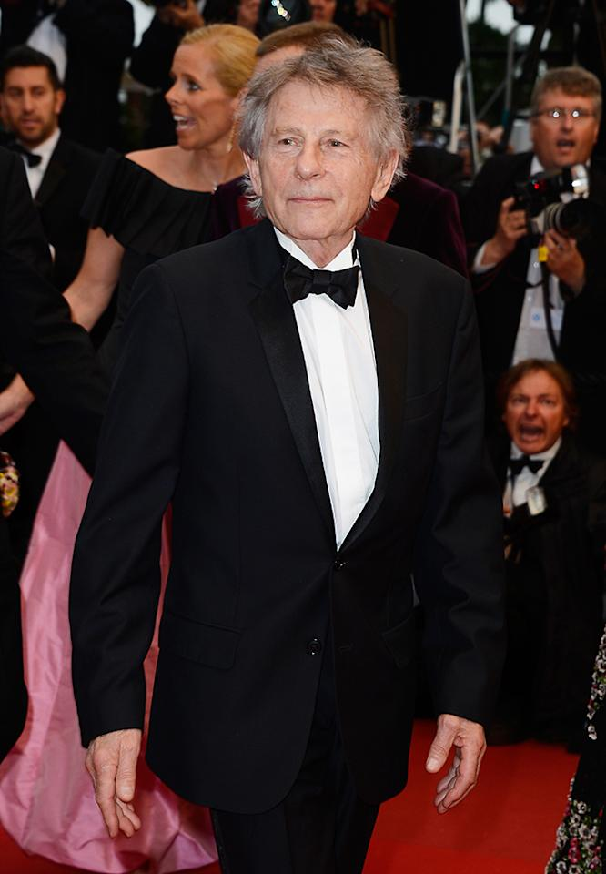 CANNES, FRANCE - MAY 22:  Director Roman Polanski attends the 'Weekend Of A Champion' Premiere during the 66th Annual Cannes Film Festival at Palais des Festivals on May 22, 2013 in Cannes, France.  (Photo by Pascal Le Segretain/Getty Images)