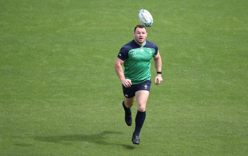 Rugby Union - Rugby World Cup - Ireland Captain's Run