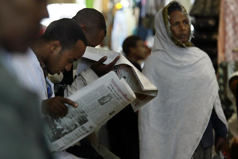 """Reporters Without Borders (RSF), which ranks Ethiopia 142 out of 180 on its press freedom index, repeatedly called for the Zone 9 bloggers release """"because they committed no crime"""""""