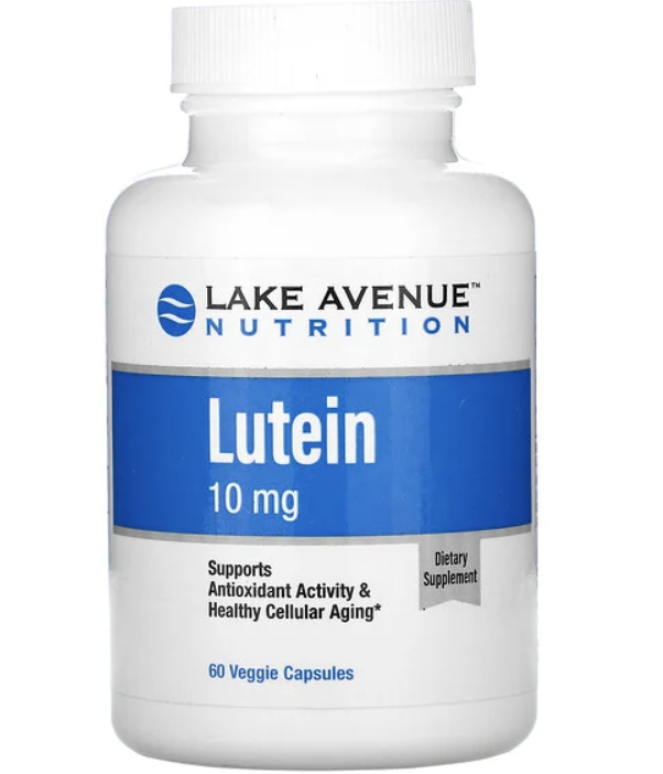 PHOTO: iHerb. Lake Avenue Nutrition, Lutein, 10mg, 60 Veggie Capsules