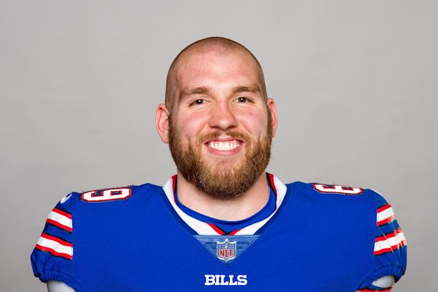 Trick-shot master: Bills' LS Reid Ferguson showed off his skills. (AP)