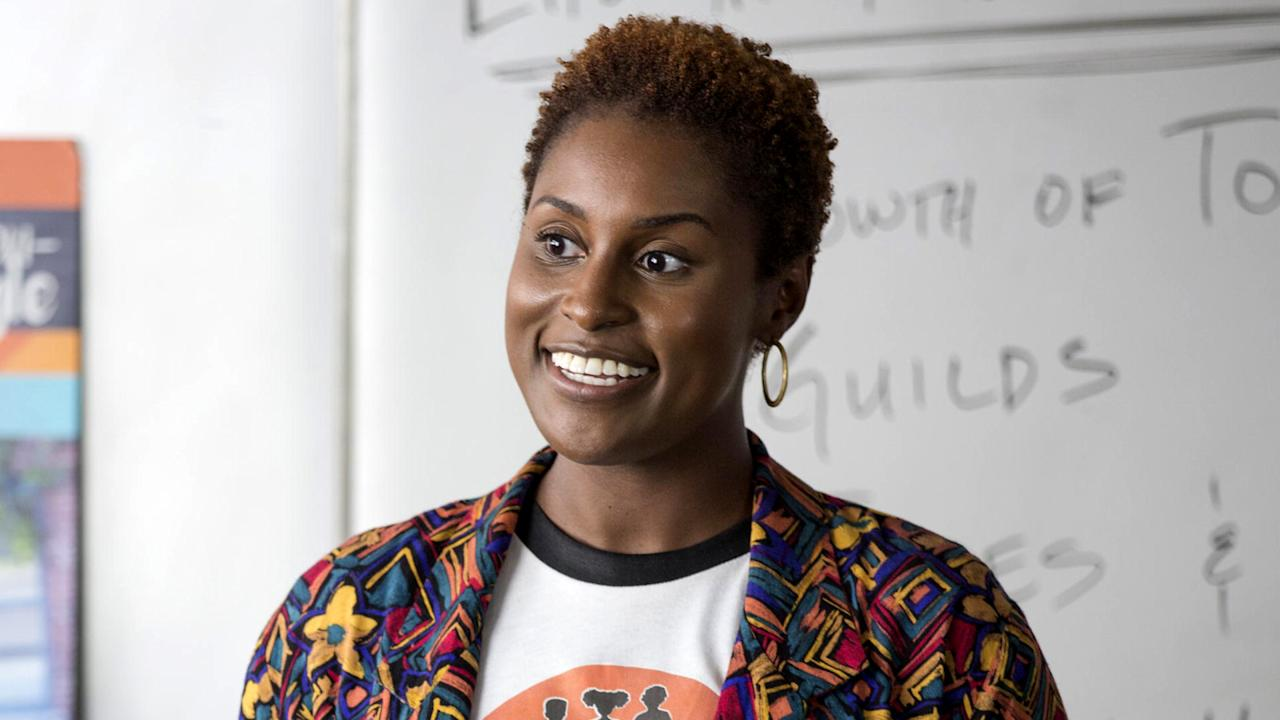 """<p><p><em>Insecure</em>looks at the single lives of two African-American women who've been best friends since college, so it explores the realities of race alongside the trials, tribulations and comedies of being a single woman of a certain age.</p> <p>You can watch<em>Insecure</em>on<em></em><a rel=""""nofollow"""" href=""""http://www.hbo.com/insecure/episodes/index.html"""">HBO</a>.</p>                                                                                                                                                                   <h4>HBO</h4>                                                                                                         <p>     <strong>Related Articles</strong>     <ul>         <li><a rel=""""nofollow"""" href=""""http://thezoereport.com/fashion/style-tips/box-of-style-ways-to-wear-cape-trend/?utm_source=yahoo&utm_medium=syndication"""">The Key Styling Piece Your Wardrobe Needs</a></li><li><a rel=""""nofollow"""" href=""""http://thezoereport.com/beauty/makeup/interest-liquid-lipstick/?utm_source=yahoo&utm_medium=syndication"""">We Love This Liquid Lipstick That's Been Pinned More Than 189,000 Times</a></li><li><a rel=""""nofollow"""" href=""""http://thezoereport.com/beauty/celebrity-beauty/zoe-kravitzs-blonde-makeup-changes/?utm_source=yahoo&utm_medium=syndication"""">How Zoë Kravitz's Makeup Routine Has Changed Since Going Blonde</a></li>    </ul> </p>"""
