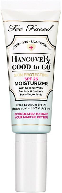 <p>In an age of staying home and wearing little-to-no makeup, we could all use the <span>Too Faced Hangover Good to Go Skin Protecting SPF 25 Moisturizer</span> ($18, originally $35). It will challenge everything you thought you knew about face sunscreens (like that they're heavy or greasy) and leave your skin with a dewy glow. Shop this beauty steal on Thursday, Jan. 21.</p>