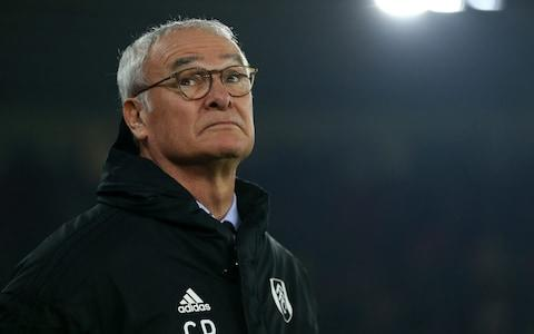 Claudio Ranieri, Manager of Fulham during the Premier League match between Southampton FC and Fulham FC at St Mary's Stadium - Credit: Steve Bardens/Getty